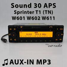 Mercedes Sound 30 APS AUX-IN Sprinter T1 TN Navigationssystem MP3 Radio RDS Navi