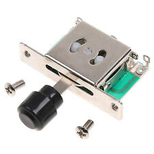 3 Way Pickup Selector Switch & Mounting Screw For Fender Telecaster Strat Guitar