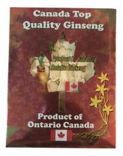 加拿大 PEACE PAVILION 五年西洋參片-標準盒裝