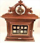 Antique Walnut 8 R Annunciator Butler Maid Servant Mansion Call Box 1877 DETROIT