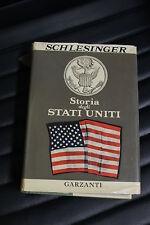 Storia degli Stati Uniti - Arthur M. Schlesinger - Prima ed. Garzanti 1963