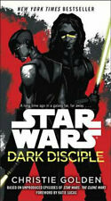 NEW Star Wars : Dark Disciple By Christie Golden Paperback Free Shipping