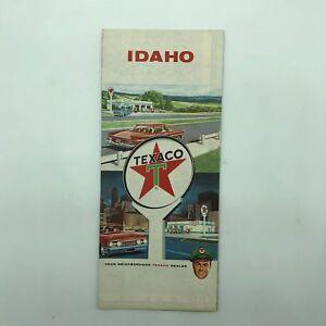 Idaho ID - Texaco Touring Map - 1962