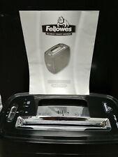 Fellowes Powershred® 12Cs Cross-Cut Shredder with manual