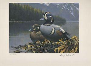 ALASKA #10 1994  STATE DUCK STAMP PRINT HARLEQUIN REGULAR EDITION Reg $195