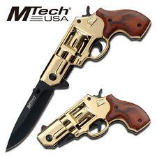 """Mtech Usa Mt-760Gdw Folding Knife 4.5"""" Closed New"""