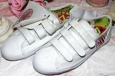 Donna Karan DKNY Girls White Shoes Kinderschuhe Mädchen Sneakers gr.30/31