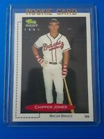 CHIPPER JONES Rookie Card RC 1991 Classic Best #268 Macon Braves - MINT, RARE!