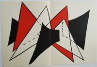 """Alexander Calder """"Doublesheet 3"""" Original Lithograph Derrière le Miroir, 1963"""