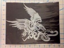 Mylar airbrush stencil eagle and snake design for motorcycle art graffiti craft