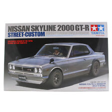 Tamiya Nissan Skyline 2000 GT-R Street Custom Car Model Set Scale 1:24 24335 NEW