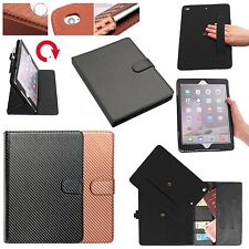 Gorilla Tech Carbon Fibre Case Strap Card Slot Detachable Cover for Apple iPad