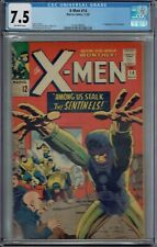 CGC 7.5 X-MEN #14 1ST APPEARANCE OF THE SENTINELS OW PAGES 1965 JACK KIRBY