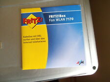 CD SOFTWARE FÜR FRITZBOX FON WLAN 7170