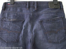 Diesel Indigo, Dark wash Rise 34L Jeans for Men