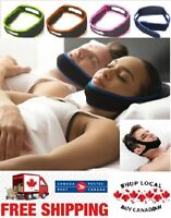 Stop Snoring Anti Snore CPAP Sleep Apnea Strap Chin Jaw Strap Canadian Shipping