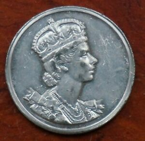 Butlin Beavers Coronation medal 1953, 38mm., nickel