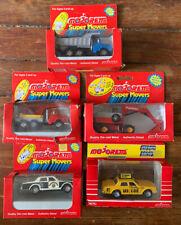 Majorette Super Movers Police Car, Yellow Taxi, Dump Truck