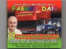 FARMER DAN - WHERE'S THE POTHOLE PATROL? - CD -  Free Post UK