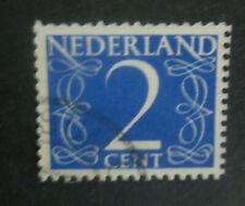 vreemde tanding nvph 461 - 2 cent blauw