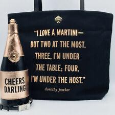 Kate Spade All That Glitters Dorothy Parker Martini Purse Bon Shopper Handbag