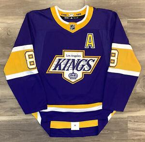LA Los Angeles Kings Drew Doughty Reverse Retro Hockey Jersey Adidas Authentic