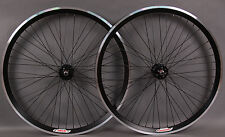 Velocity Black Chukker Polo Bike Fixed Gear Style Wheelset 48 Hole Wheels MSW