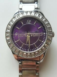 Roberto CAVALLI ladies wristwatch, stainless still. Pre-owned.good condition.