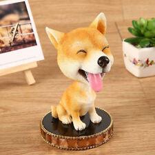 Akita Dog Bobble Head Doll With Perfume Base Car Dashboard Home Ornaments Decor