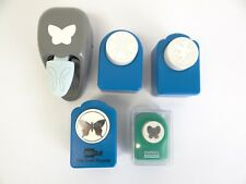 Lot Used Marvy Ushida Butterfly Angel Cherub Paper Cutter Stamps Punches McGill
