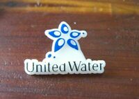 United Water Lapel Pin - Vintage Federal Services UWFS American Military Badge