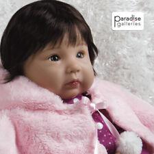"""Paradise Galleries Realistic Asian Baby Doll Ethnic Reborn Girl """"Smitten Kitten"""""""