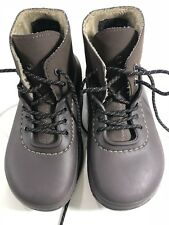 Crocs Rain Snow Ankle Boots Lace Up Lined Clog All Weather Mens 4/womens 6