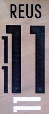 GERMANY Home Shirt 2016-17 REUS#11 Football Name & Number Kit Set