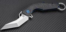 Artisan Cutlery Cobra Folding Knife S35VN Stainless Blade Carbon Fiber Handle
