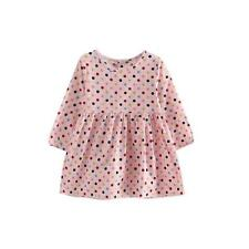 Summer Girl Long Sleeve Polka Princess Dress Kids Baby Party Pageant Dresses 120