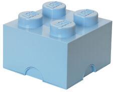 LEGO Storage Brick XL HELL ROYALBLAU Stein 2x2 Aufbewahrung Dose Box Kiste 4Knob