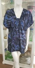 Country Road silk dress. SzSm. As new cond. Side zipper.