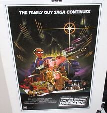 THE FAMILY GUY SAGA CONTINUES LIMITED EDITION COLOR POSTER WITH C.O.A.
