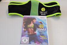 Zumba Fitness 2: Party Yourself Into Shape für Nintendo Wii mit Gürtel