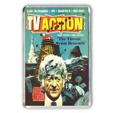 RETRO  -DOCTOR WHO - JON PERTWEE TV ACTION COMIC COVER JUMBO FRIDGE MAGNET