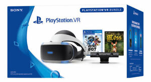 NEW Sony PlayStation VR Astro Bot Rescue Mission PS4 Virtual Reality Bundle Moss