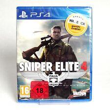 Sniper Elite 4 IV Italia - UNCUT - PS4 *nagelneu*