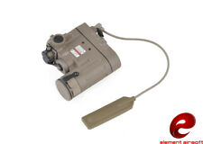 TORCIA LASER SOFTAIR M4 G36 AK COMBINATO DBAL/EMKII POINTER TAN EL-EX328T EX328