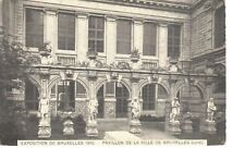 carte postale - Bruxelles - CPA - Brussel - Exposition 1910
