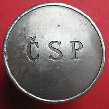 Telephone token - 2-02.2.1 - Czech - ČSP - 29 mm - Fe - Variety: S inclined ends