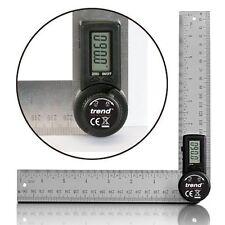 Digitaler Winkelmesser 400 mm Winkelschmiege Winkelmessgerät Neu 2 x 200 mm