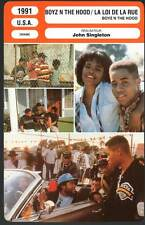 BOYZ N THE HOOD - Gooding Jr,Fishburne (Fiche Cinéma) 1991