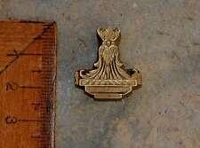 Messingornament Ornament Buchbinden Prägen Prägestempel Handvergolden Vergolden.