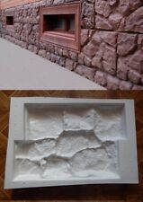 Wall Stone Mould Cement Bricks Paving Mold Home Garden Former Tool
